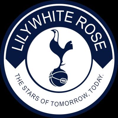 Tottenham Hotspur Lilywhite Rose